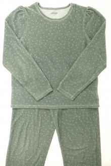 vetement marque occasion Pyjama en velours à pois Vertbaudet 10 ans Vertbaudet