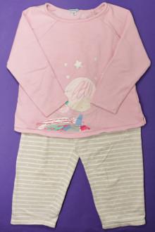vetement enfant occasion Pyjama en molleton