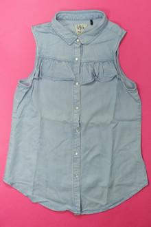 vêtements occasion enfants Chemisier en jean sans manches - 14 ans IKKS 12 ans IKKS