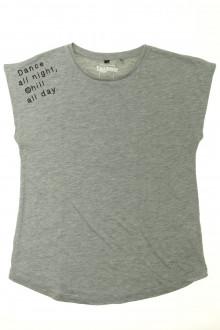 vetements enfants d occasion Tee-shirt manches courtes - 14 ans Sans marque 12 ans Sans marque
