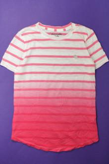 vêtements occasion enfants Tee-shirt manches courtes rayé - 16 ans Abercrombie 12 ans Abercrombie