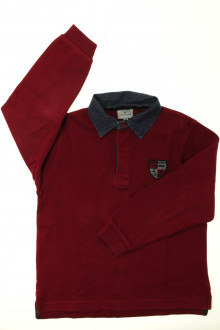 vêtements occasion enfants Polo manches longues Cyrillus 8 ans Cyrillus