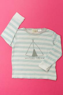 Habit de bébé d'occasion Tee-shirt manches longues