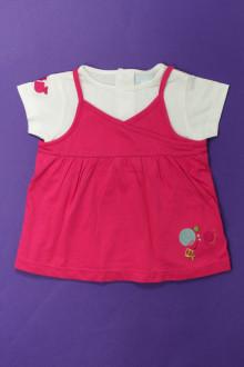 Habits pour bébé Tee-shirts superposés Obaïbi 18 mois Obaïbi