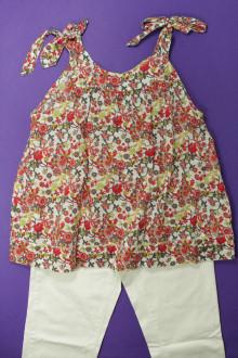 vetements enfants d occasion Ensemble pantalon et blouse Okaïdi 10 ans Okaïdi