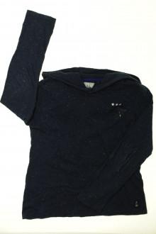 vêtements enfants occasion Tee-shirt manches longues à capuche IKKS 10 ans IKKS