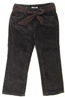 vêtements enfants occasion Pantalon doublé en velours fin Okaïdi 3 ans Okaïdi