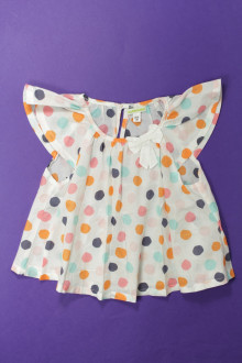vêtements occasion enfants Blouse à pois Vertbaudet 3 ans Vertbaudet