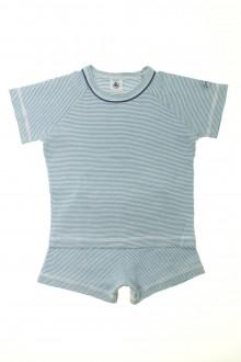 vêtements d occasion enfants Pyjama court milleraies Petit Bateau 3 ans Petit Bateau