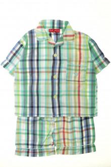 vêtement enfant occasion Pyjama court à carreaux Arthur 4 ans Arthur