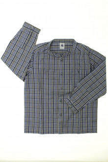 vêtements enfants occasion Chemise à carreaux Petit Bateau 5 ans Petit Bateau