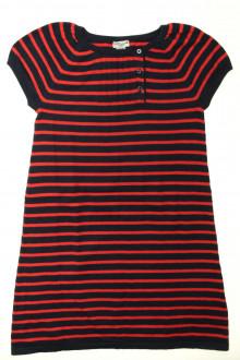 vêtements d occasion enfants Robe en maille rayée Cyrillus 10 ans Cyrillus