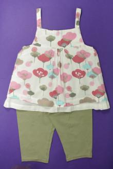 vetement occasion enfants Ensemble blouse et legging Vertbaudet 8 ans Vertbaudet