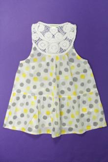 vêtements occasion enfants Blouse à pois Vertbaudet 10 ans Vertbaudet