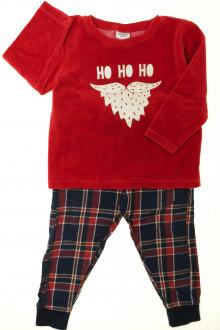 vêtements enfants occasion Pyjama bi-matière