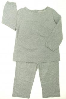 vetement enfants occasion Pyjama à pois en coton Cyrillus 4 ans Cyrillus
