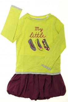 vêtement enfant occasion Ensemble jupe et tee-shirt Okaïdi 6 ans Okaïdi