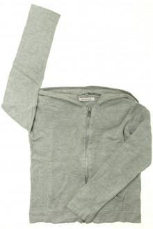 vêtements occasion enfants Gilet zippé à capuche Monoprix 8 ans Monoprix