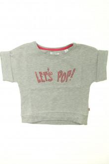 vêtements enfants occasion Sweat manches courtes Okaïdi 8 ans Okaïdi