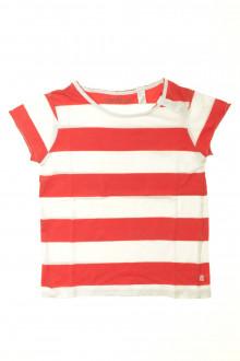 vetement enfants occasion Tee-shirt manches courtes à rayures Okaïdi 6 ans Okaïdi