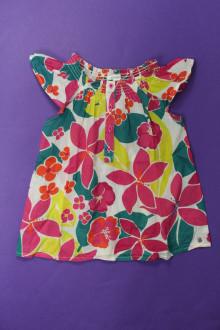 vetement occasion enfants Blouse fleurie Okaïdi 6 ans Okaïdi