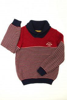 vetements enfant occasion Pull rayé Sergent Major 7 ans Sergent Major