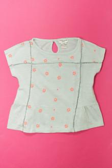 vêtements d occasion enfants Tee-shirt manches courtes brodé Cyrillus 4 ans Cyrillus