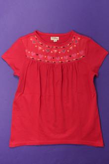 vetements enfants d occasion Tee-shirt manches courtes brodé DPAM 8 ans DPAM