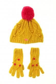vetement occasion enfants Ensemble bonnet et gants Catimini 4 ans Catimini