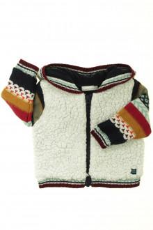 vetement bébé d occasion Gilet/veste zippé Catimini 9 mois Catimini