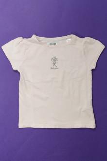 vetement  occasion Tee-shirt manches courtes Okaïdi 3 ans Okaïdi