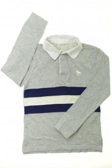 vêtements occasion enfants Polo manches longues Abercrombie 8 ans Abercrombie