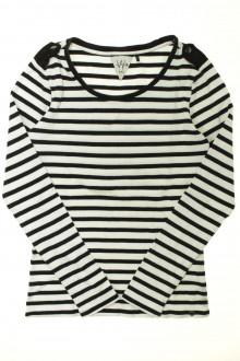 vetement occasion enfants Tee-shirt rayé manches longues - 16 ans IKKS 12 ans IKKS