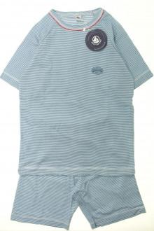 vetement occasion enfants Pyjama court milleraies - NEUF Petit Bateau 10 ans Petit Bateau
