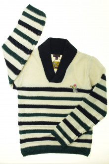 vetement d occasion enfant Pull rayé - NEUF Sergent Major 9 ans Sergent Major