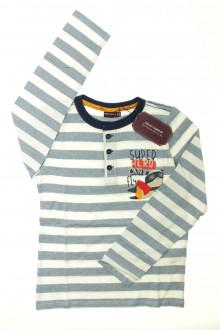 vêtements occasion enfants Tee-shirt rayé manches longues - NEUF Sergent Major 9 ans Sergent Major