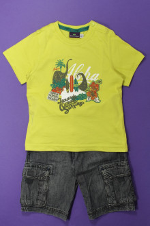 vêtements occasion enfants Ensemble bermuda et tee-shirt Sergent Major 3 ans Sergent Major