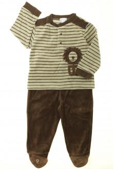 vetement bébé d occasion Pyjama en velours