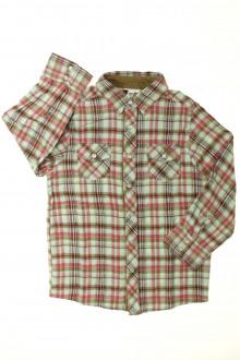 vetements enfants d occasion Chemise à carreaux Vertbaudet 5 ans Vertbaudet