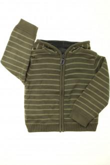 vêtements occasion enfants Gilet zippé réversible Vertbaudet 4 ans Vertbaudet
