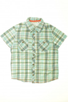 vêtements enfants occasion Chemisette à carreaux Vertbaudet 5 ans Vertbaudet