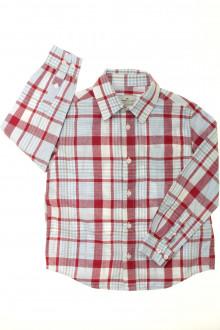 vetement  occasion Chemise à carreaux Cyrillus 6 ans Cyrillus