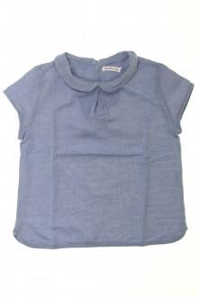 vêtements occasion enfants Blouse manches courtes Monoprix 6 ans Monoprix