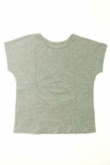 vetement occasion enfants Tee-shirt manches courtes brillant Monoprix 8 ans Monoprix