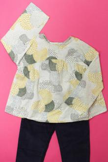 vêtements occasion enfants Ensemble pantalon et blouse Monoprix 6 ans Monoprix