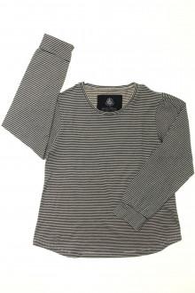 vetements enfants d occasion Tee-shirt manches longues milleraies Petit Bateau 6 ans Petit Bateau