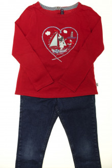 vetements enfants d occasion Ensemble jean et tee-shirt Sergent Major 7 ans Sergent Major