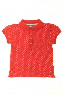 vêtements occasion enfants Polo manches courtes à pois DPAM 5 ans DPAM