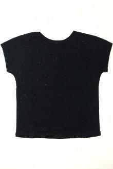 vetement occasion enfants Tee-shirt manches courtes pailleté Monoprix 8 ans Monoprix