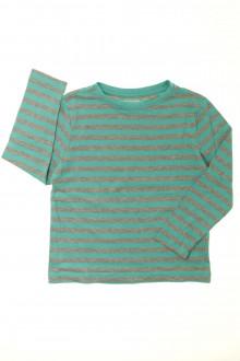vetement occasion enfants Tee-shirt rayé manches longues Vertbaudet 5 ans Vertbaudet